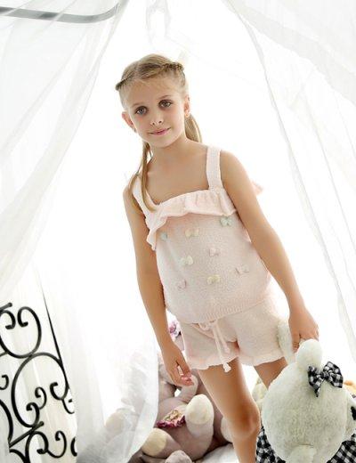 画像1: 子供用モコモコ高質ルームウェア